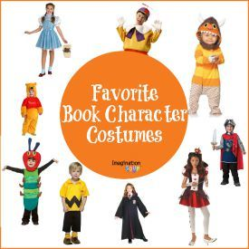 Book Character Costumes...Dress up as your favorite book character and have a Happy Bookish Halloween! How about one of these book character costume ideas from the best children's picture and chapter books...