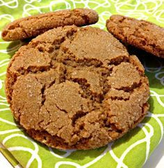 Buckwheat Molasses Cookies - Love how @Turningtheclockback has made these even healthier::