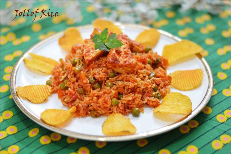 Nigerian Jollof Rice/ Vegetarian Jollof Rice
