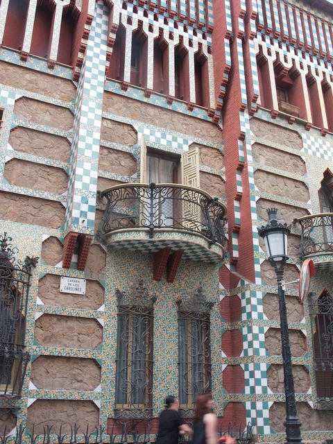 Casa vicens 1883 1885 barcelona spain antoni gaudi gaudi pinterest photos - Casa vives gaudi ...
