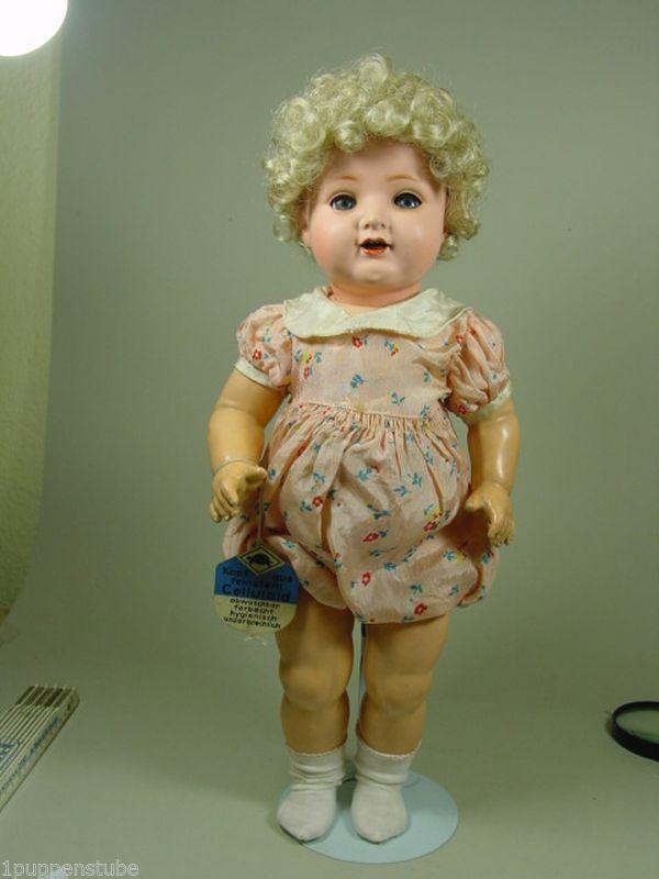 P903/ Alte Schildkröt Puppe ca. 1940 ca. 43 cm. | eBay