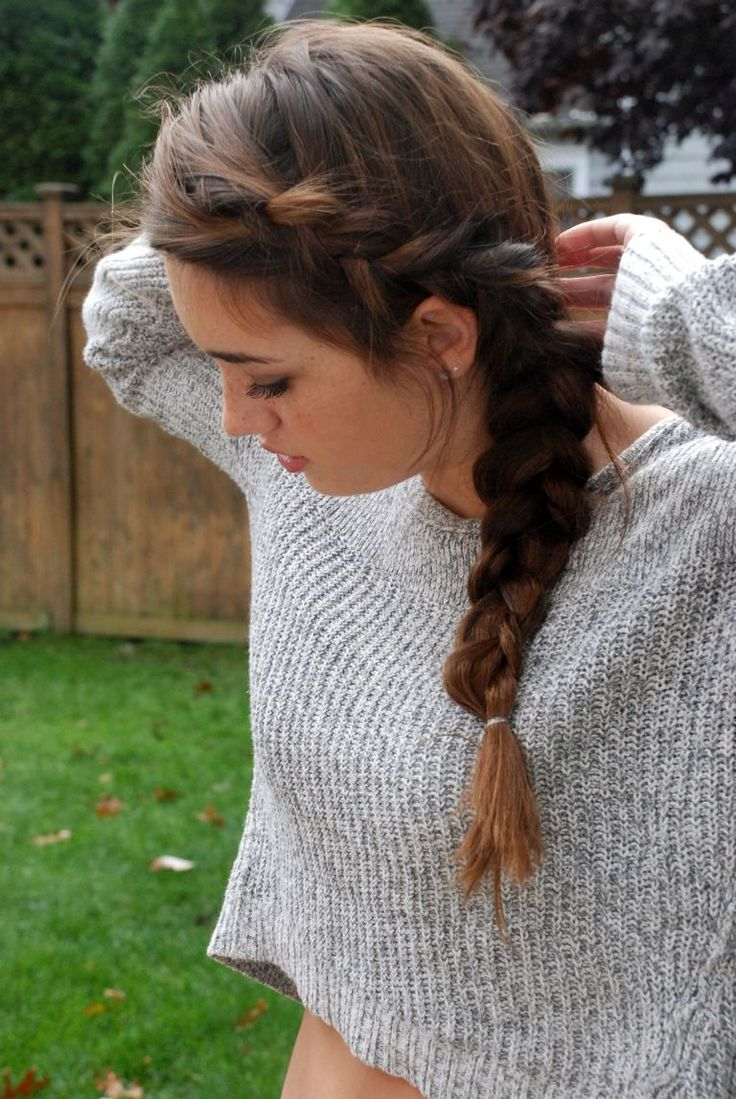 Best 25+ Braiding Your Own Hair Ideas Only On Pinterest  How To Braid  Hair, How To Braid Step By Step And French Braid Styles