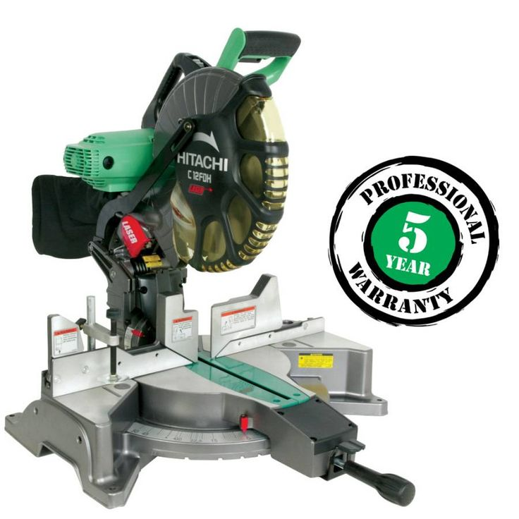 hitachi 12 15 amp dual bevel miter saw 200 when added to cart