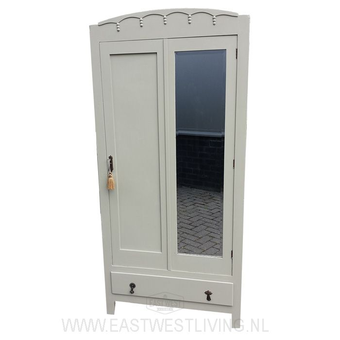 Mooie kast in Farrow&Ball French Gray