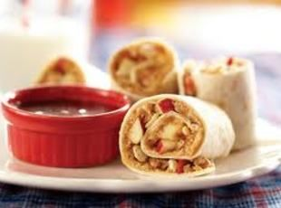 PEANUT BUTTER APPLE WRAPS Recipe | Just A Pinch Recipes