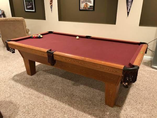 8u0027 Olhausen Billiards Pool Table