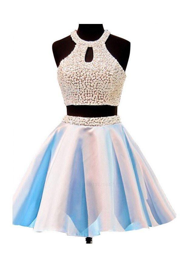 e0982742e53 Hot Sale Easy Homecoming Dress Two Piece