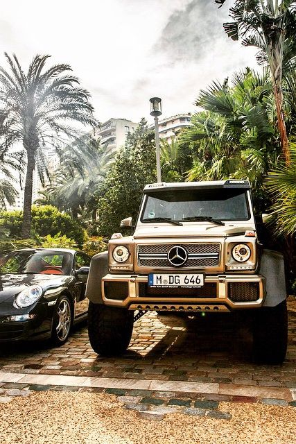 """themanliness: """"Mercedes 6x6   Source   Facebook   Instagram """""""