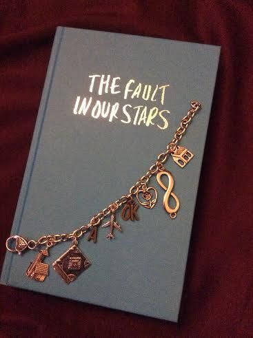 The Fault in Our Stars Charm Bracelet by WitzendDesigns on Etsy, $20.00