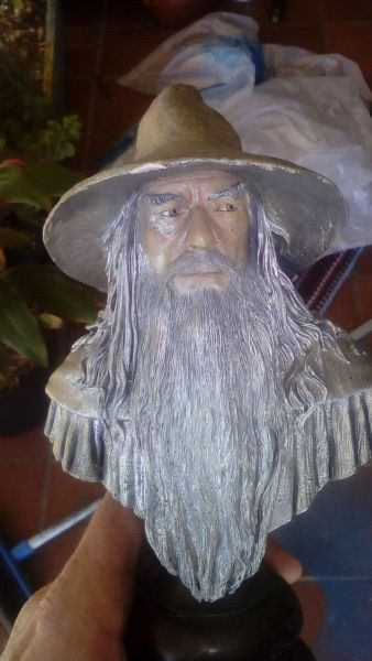 Have a lord of the rings statue in fair condition $20 margate