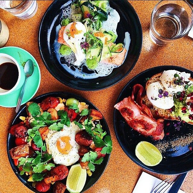 This feast for the senses was enjoyed by Instagrammer jess.wat and friends at concept cafe @thecuppingroom. The Cupping Room was designed by the team from @OnaCoffee to share passion and knowledge about coffee, but has also become a top spot in Canberra for brunch. #visitcanberra #restaurantaustralia