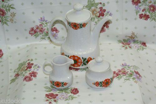 BAVARIA Mitterteich Porzellan Kaffeekanne und Zuckerdose und Milchkännchen | eBay