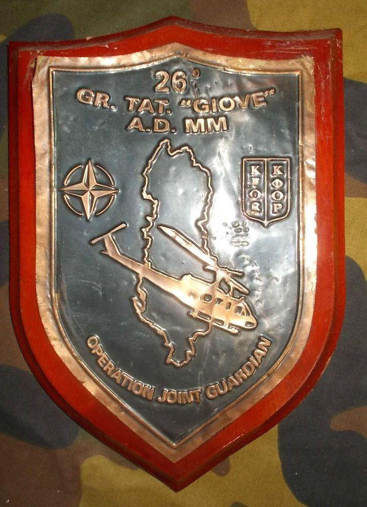 MISSIONE BALCANI 26° GRUPPO TATTICO MARINA MILITARE  GIOVE