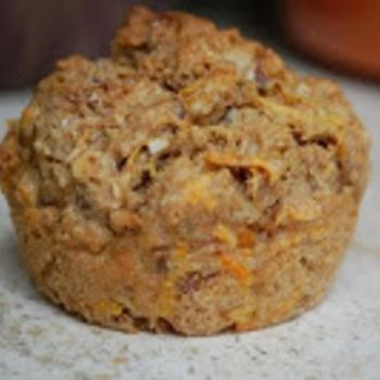 Wortelkokosmuffins - suikervrij