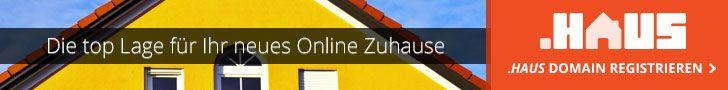 Ein Haus verkaufen? Mit einer Haus-Domain! http://www.domainregistry.de/haus-domains.html