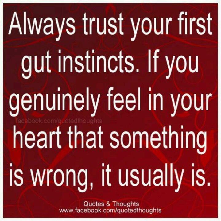 Gut Instinct Quotes. QuotesGram