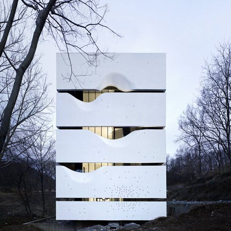 Blockhouse by AZL Architects (http://www.pinterest.com/AnkAdesign/structure-lines/)