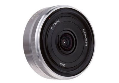 Sony E-mount SEL 16mm F2.8
