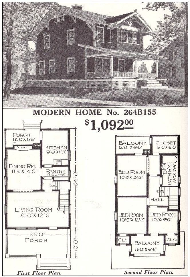 check out these ads from the 1934 montgomery ward catalog vintage house plans