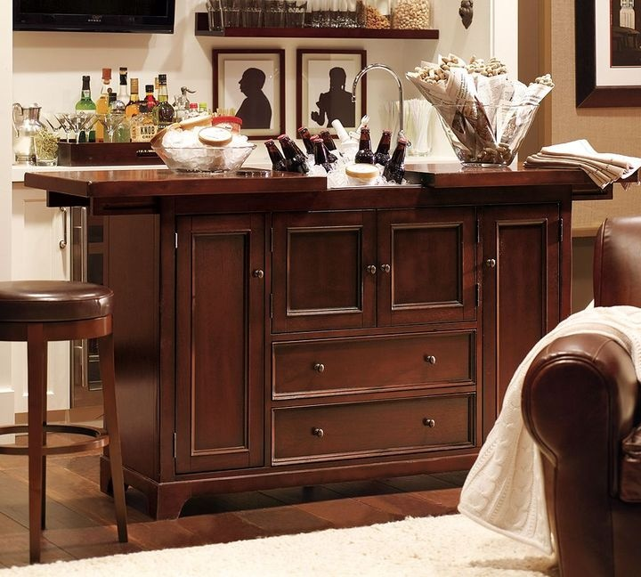 Pottery Barn Cabinets: Pottery Barn Torrens Bar Cabinet