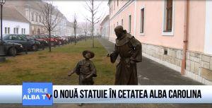 O nouă statuie în Cetatea Alba Carolina