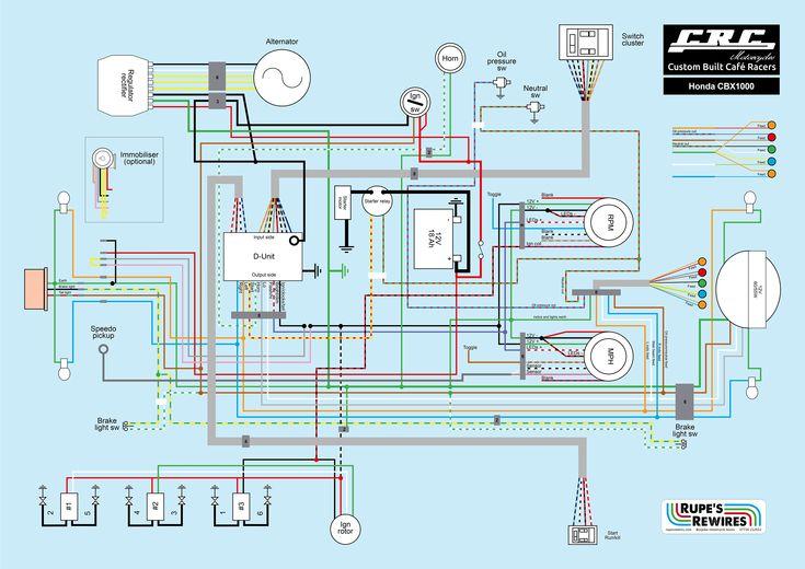 Hero Honda Wiring Diagram, Basic Motorcycle Wiring Diagram Pdf