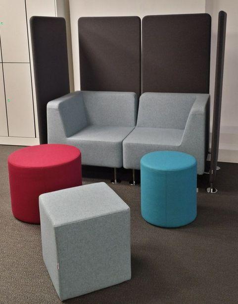 Siedziska WALL IN, POINT i CUBE #elzap #meblebiurowe #meble #furniture #poland #warsaw #krakow #katowice #office #design #officedesign #officefurniture #sofa  www.elzap.eu www.krzesla.krakow.pl www.meble-metalowe.com