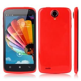JIAKE S820+ 4.7inch MTK6582 Quad Core 1.3GHz Smartphone 1GB+4GB 5.0MP Camera Android4.2 3G/GPS - Red -88euro