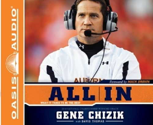 All In By Gene Chizik and David Thomas CD