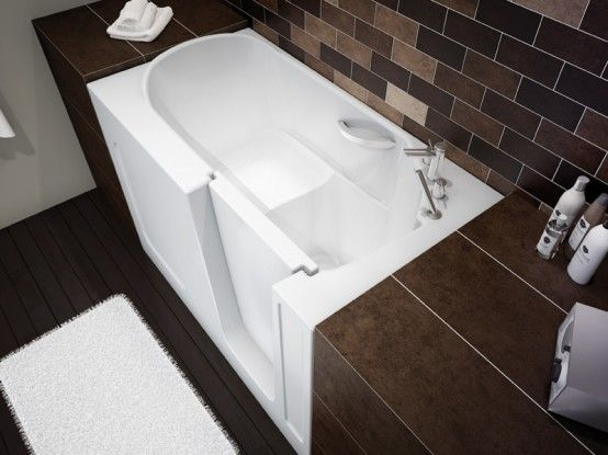 1000 images about walk in bathtubs on pinterest massage for Tiny house walk in tub