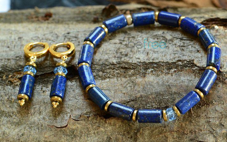 Orient - Komplet - BeFreeDesign - Lapis lazuli