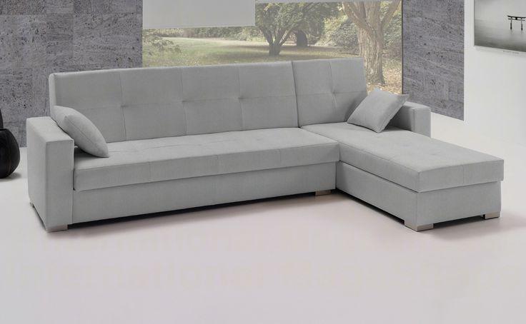 Sofá cama de tela Nebes de HOME