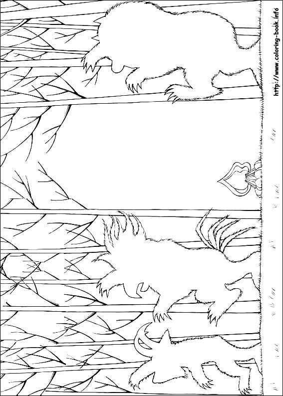 Where The Wild Things Are Coloring Picture Let Kids Draw