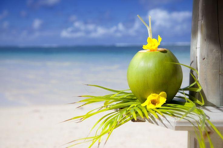 #Coconut & #Mauritius #beach #travel #sun #summer