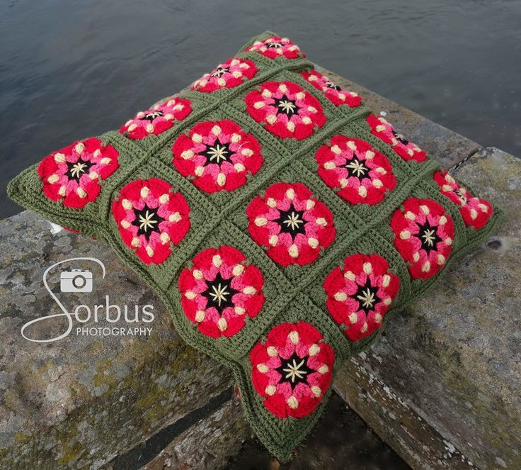 """""""River Rose Cushion"""" ~ 'By shallow rivers…there will I make thee beds of roses and a thousand fragrant posies' - make a statement with the River Rose Cushion and add a touch of poetry to your home. ~ Designer: TBA 8/9/15"""