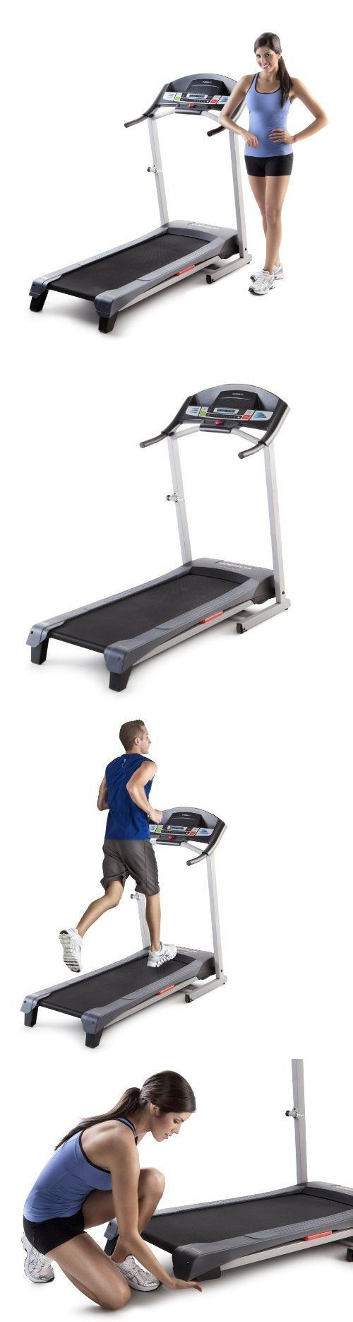 Aquatic Fitness Equipment 158922: Electric Treadmill Exercise Running Fitness Gym Cardio Incline BUY IT NOW ONLY: $386.97