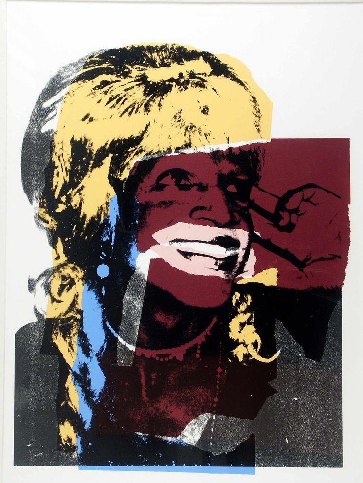 Ladies and Gentleman 1975 - Andy Warhol. Pop art.