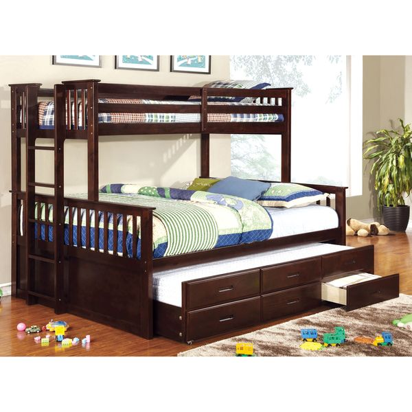 Queen Bunk Bed Set With Trundle For Your Kids Bedroom