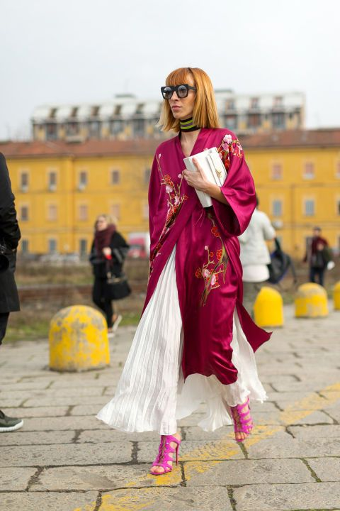 Ciao Bella! See the best street style looks during Milan Fashion Week so far: