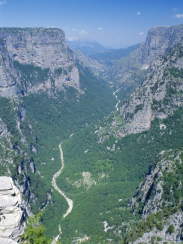 Vikos Gorge National Park, Epirus, Greece, Europe, Nationalparken i Epirus, Grekland