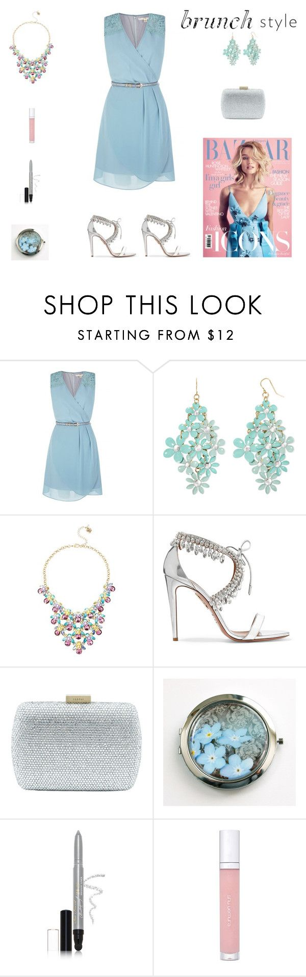 Takashi murakami sun flowers and contemporary art uniqlog -  Contest Light Blue Flowers Silver Glitter Brunch Outfit By Billsacred Liked
