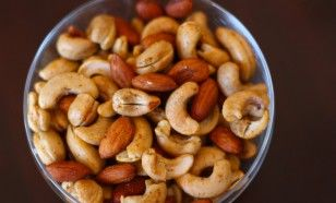 spicy lime nuts for snacks