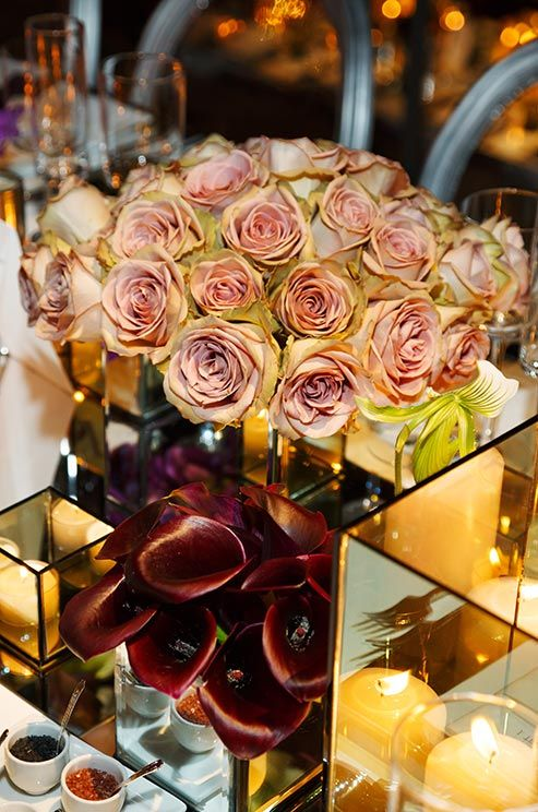 32 best colin cowie images on pinterest weddings wedding bouquets silver and purple wedding modern chic jewish wedding real wedding junglespirit Gallery