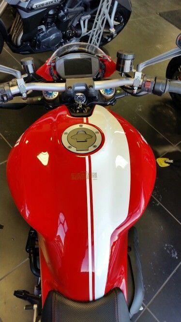 2015 Ducati Monster 1200S Stripe
