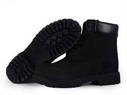 Womens All Black Timberland Boots