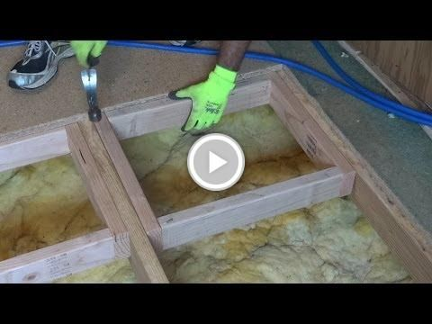 How to water damage repair a sub floor water damage - How to replace subfloor in bathroom ...