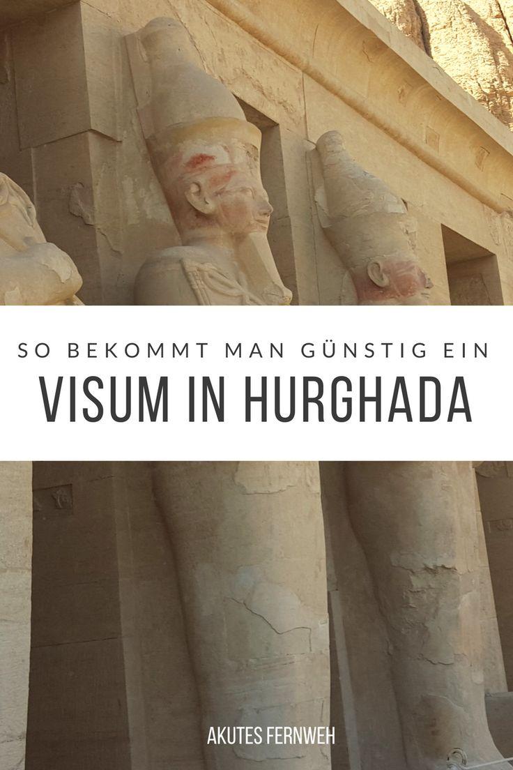 Visum am Flughafen Hurghada beantragen - So klappt es ohne unnötig draufzuzahlen!