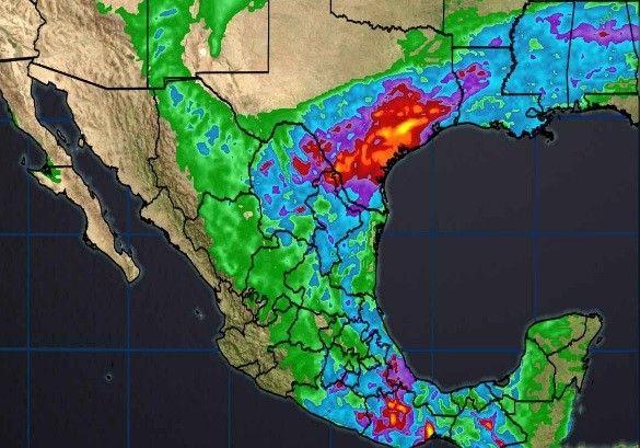 <p>Chihuahua, Chih.- El Servicio Meteorológico Nacional (SMN) prevé lluvias fuertes para Chihuahua de 25 a 50 mm y podrían presentarse