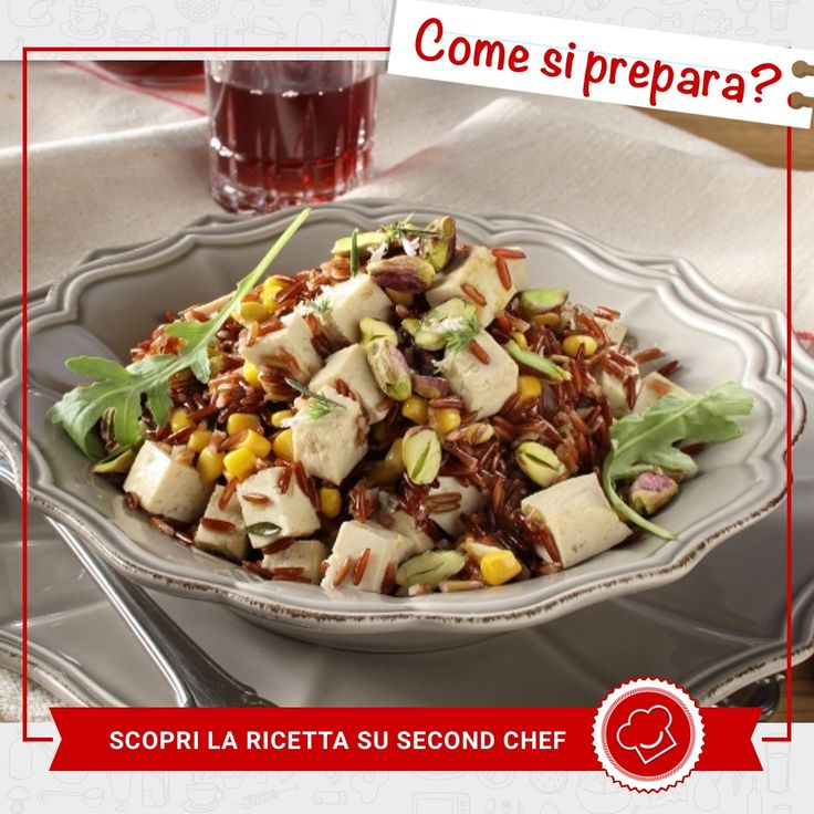 Se cerchi un primo piatto speciale, prova il Riso rosso con tofu, rucola e pistacchi di  #Second_Chef!   INGREDIENTI: -Lime -Santoreggia in foglie -Scalogno -Pistacchi sgusciati -Rucola -Riso rosso -Tofu -Mais Scopri l'intera #ricetta su http://rebrand.ly/risorossocontofu  #incucinaconsecondchef #lericettedisecondchef #iltuomenù #eat #food #ricette