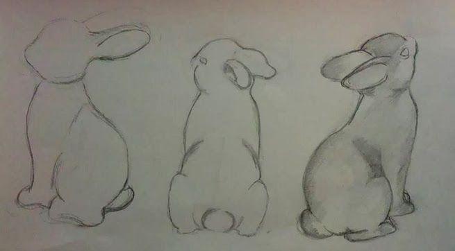 Jolanda Althuis #konijn #rabbit #illustration #pensil #drawing